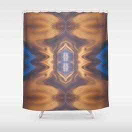 Lenticular Cloud Symmetry Shower Curtain
