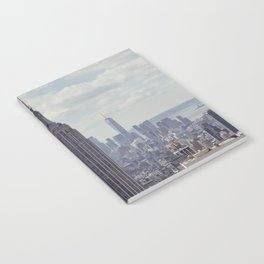New York State of Mind view, Empire State building | The beautiful NYC from above on top of the Rock Notebook