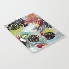 Tropical Birds (Color 2 - Bold) Notebook