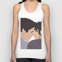 katniss Tank Tops featuring Gale and Katniss by imsirius