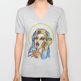 La (no tan) virgen Unisex V-Neck