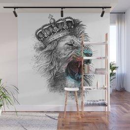 lion s head t shirt crown iron on lion head Wall Mural