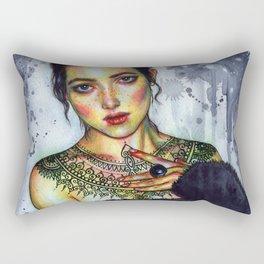 Inked Rectangular Pillow