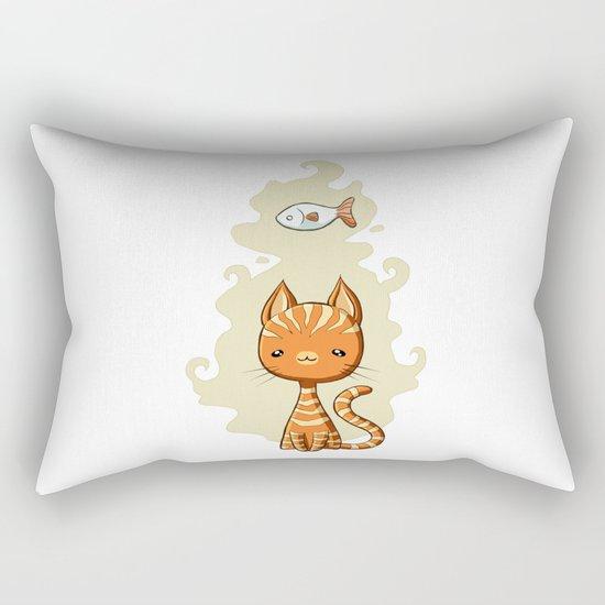 Ginger Cat Rectangular Pillow