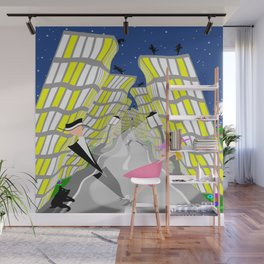 Love At 1st Sight Wibbly Wobbly Wall Mural