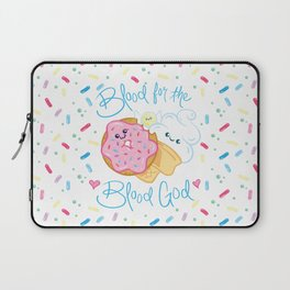 Sweet & Sinister: Donut, Ice Cream, Candy Laptop Sleeve