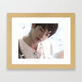 seokjin Framed Art Print