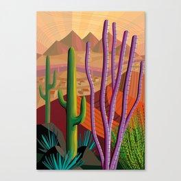 Tucson Canvas Print