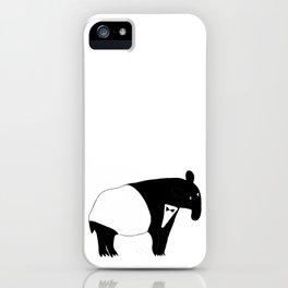 Tuxedo Tapir iPhone Case