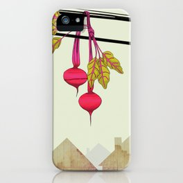 Beets in the Hood iPhone Case