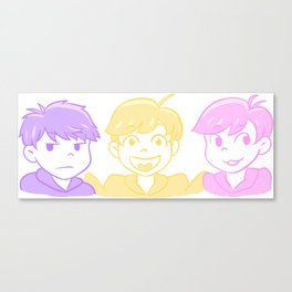Youngest Matsus Canvas Print