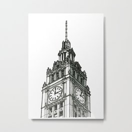 Triptych 1 - Wrigley Building - Original Drawing Metal Print