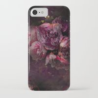 peony iPhone & iPod Cases featuring peony by MINTSENSEART