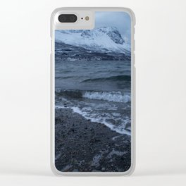 Narvik Fjord Clear iPhone Case