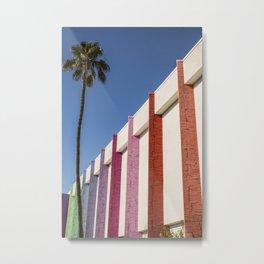 Palm Springs Hotel Metal Print