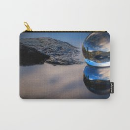 Reflections of Reflections Castle Lake in a crytsal ball photograph Carry-All Pouch