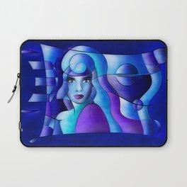 Esparamentina - endless blue Laptop Sleeve