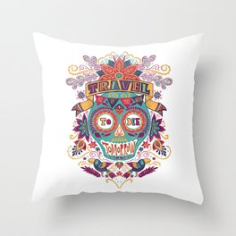 Travel As If You Were to Die Tomorrow - La Mañana Throw Pillow