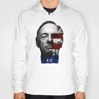 house of cards Hoodies featuring House of Cards by offbeatzombie