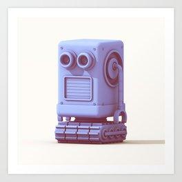 Bot Boy Art Print