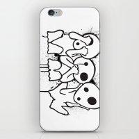 kodama iPhone & iPod Skins featuring Kodama by Huemanitee