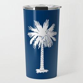 South Carolina state flag - Authentic version Travel Mug
