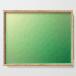 Green flakes. Copos verdes. Flocons verts. Grüne Flocken. Зеленые хлопья. Serving Tray