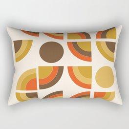 Kosher - retro throwback minimalist 70s abstract 1970s style trend Rectangular Pillow