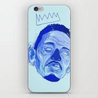 kendrick lamar iPhone & iPod Skins featuring Kendrick Lamar by HUSKMELK