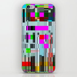 code life iPhone Skin
