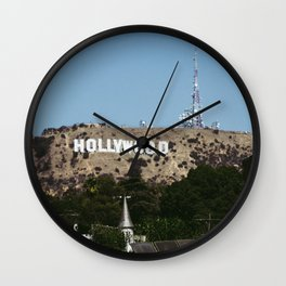 Cliche Hollywood Photo Wall Clock
