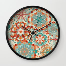 Ocean Kaleidoscope Wall Clock