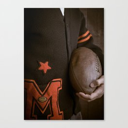 Varsity Days Canvas Print