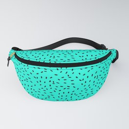 Strawberry Seeds | Teal Fanny Pack