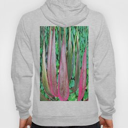 359 - Abstract Plant Design Hoody