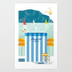 Illustre Conero - Annito & son Art Print