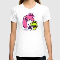 feet T-shirts featuring Happy Feet by Artistic Dyslexia