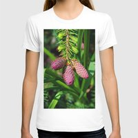 norway T-shirts featuring Norway Spruce by Photography by Michiale