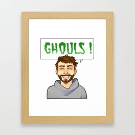 Ghouls ! [Charlie Kelly] Framed Art Print