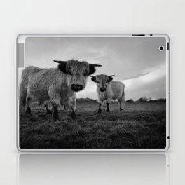High Park Cow Mono Laptop & iPad Skin