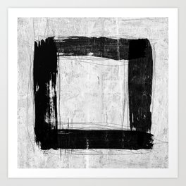 Abstract Square Composition Art Print