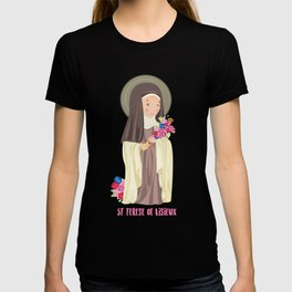 St. Terese of Lisieux T-shirt