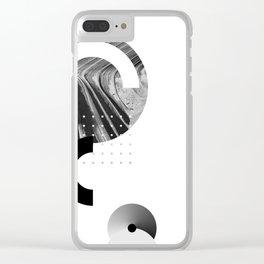 Near yet far Clear iPhone Case