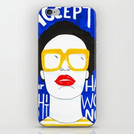 Accept Yourself iPhone Skin