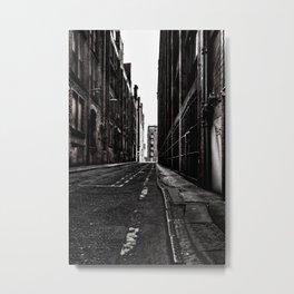 China Lane MANchester Metal Print