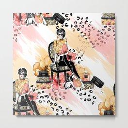 Fashion & Perfume Metal Print