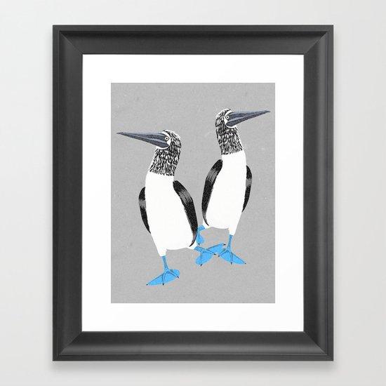 Blue-footed booby by tonadisseny