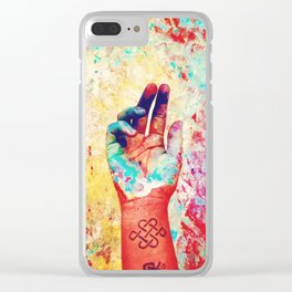 Mata - Mudra Clear iPhone Case