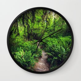 Rainforest Trail Wall Clock