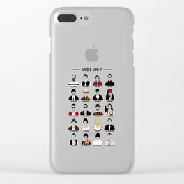 Who's who? Clear iPhone Case